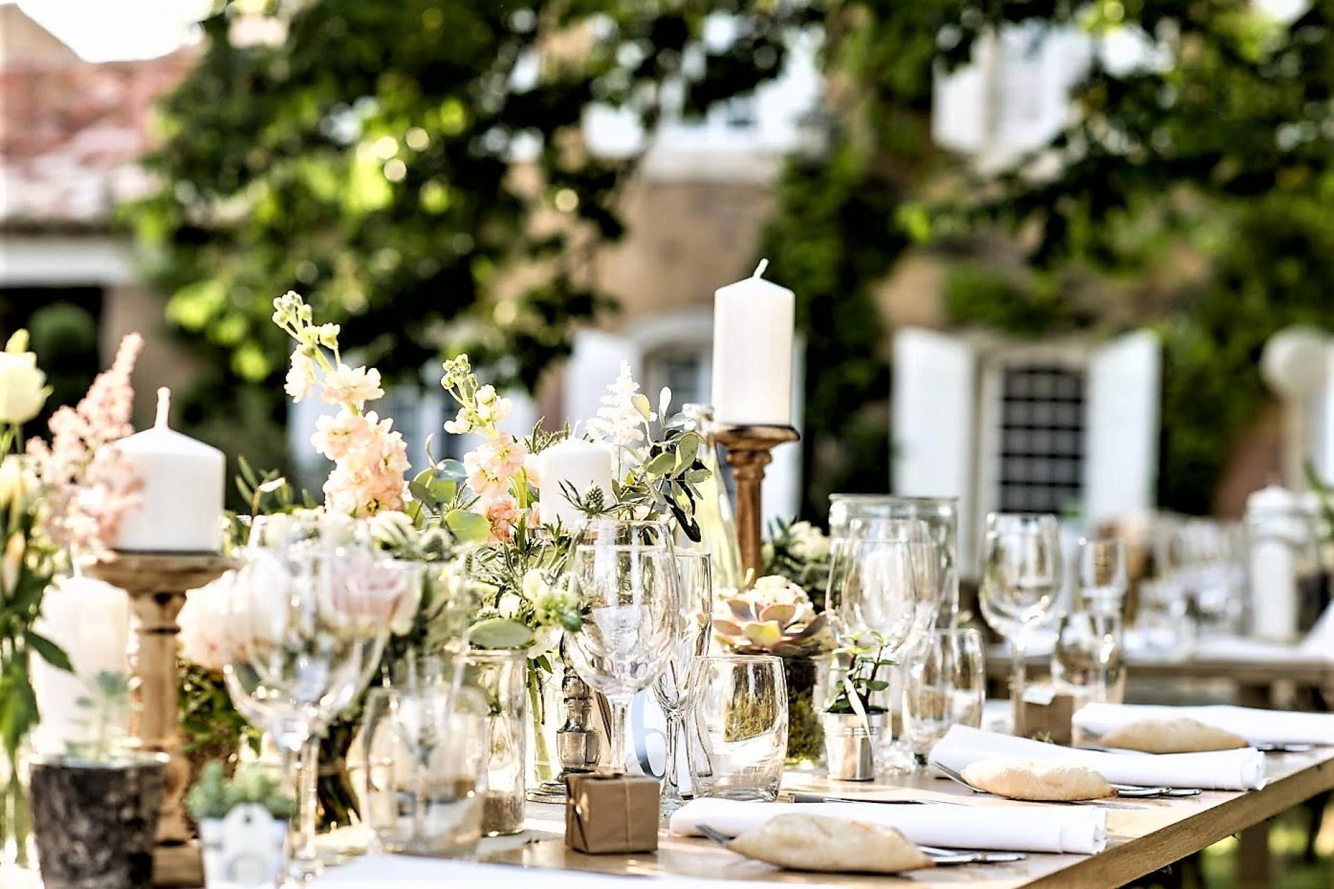 VILLA BASTIDE DE LA SORGUE, A PERFECT VENUE FOR WEDDINGS