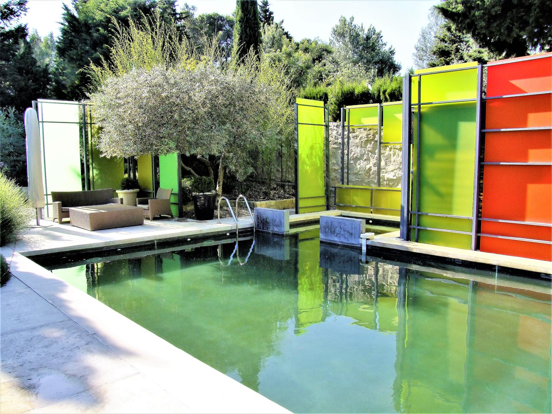 SWIMMING POOL OF LA DEMEURE DE SEIGNEURS VILLA IN PROVENCE