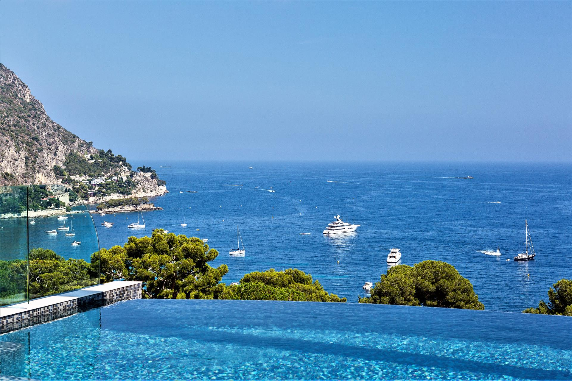 LUXURY VILLA WITH SEA VIEWS HOLIDAY RENTAL IN EZE COTE D AZUR SOUTH OF FRANCE