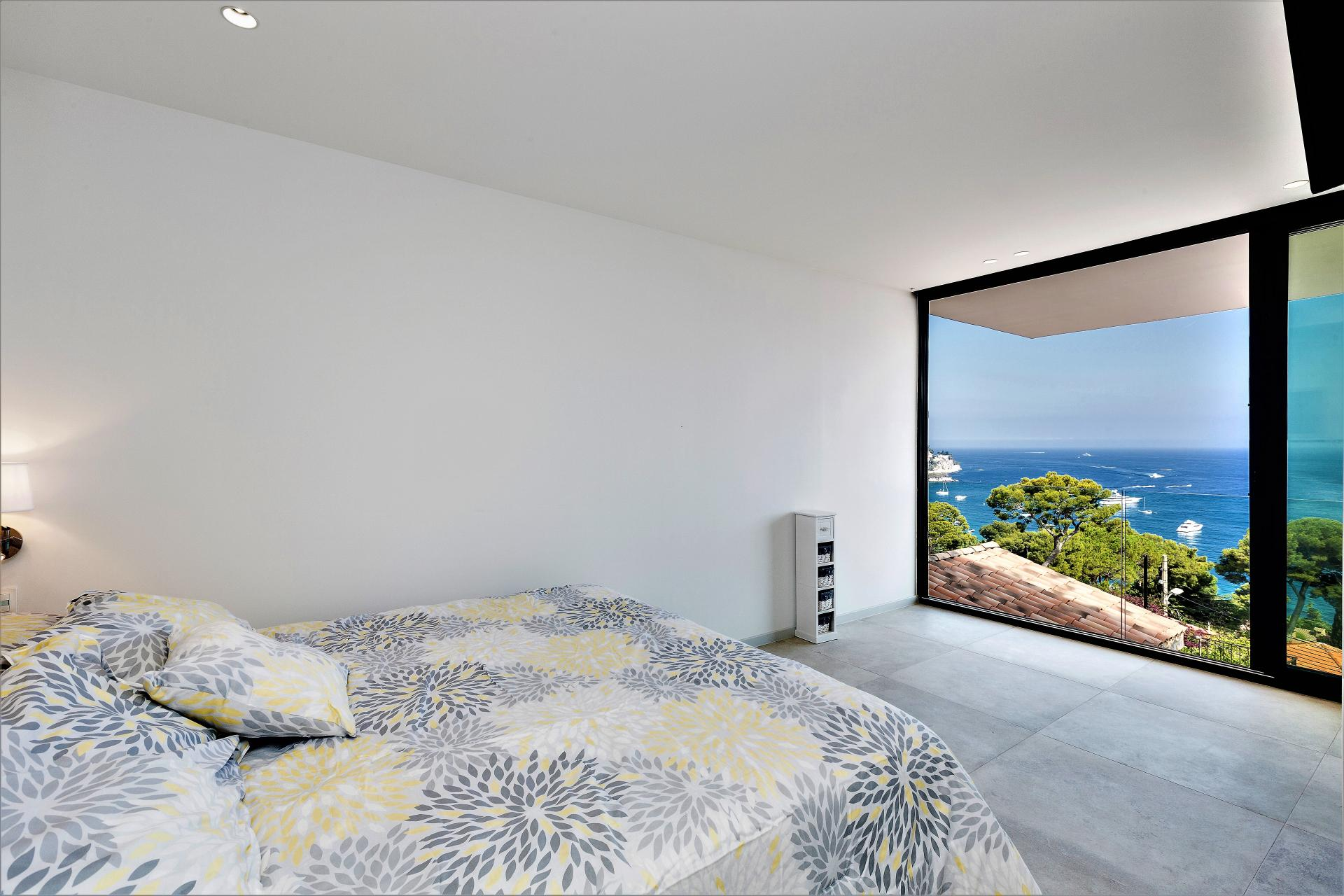 ANOTHER BEDROOM WITH SEA VIEWS IN INFINITY VILLA