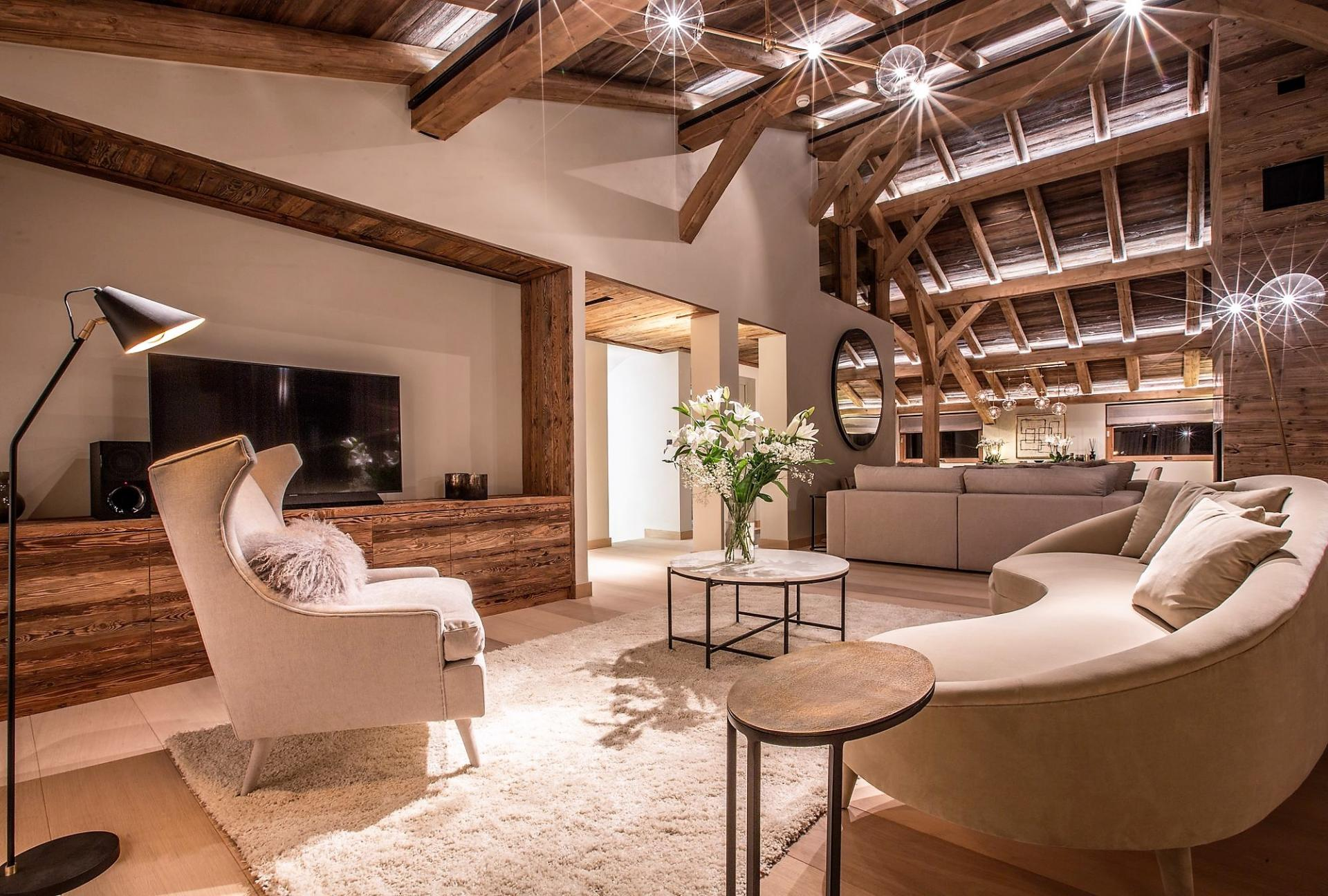 THE LOUNGE IN CHALET DES CHOZEAUX