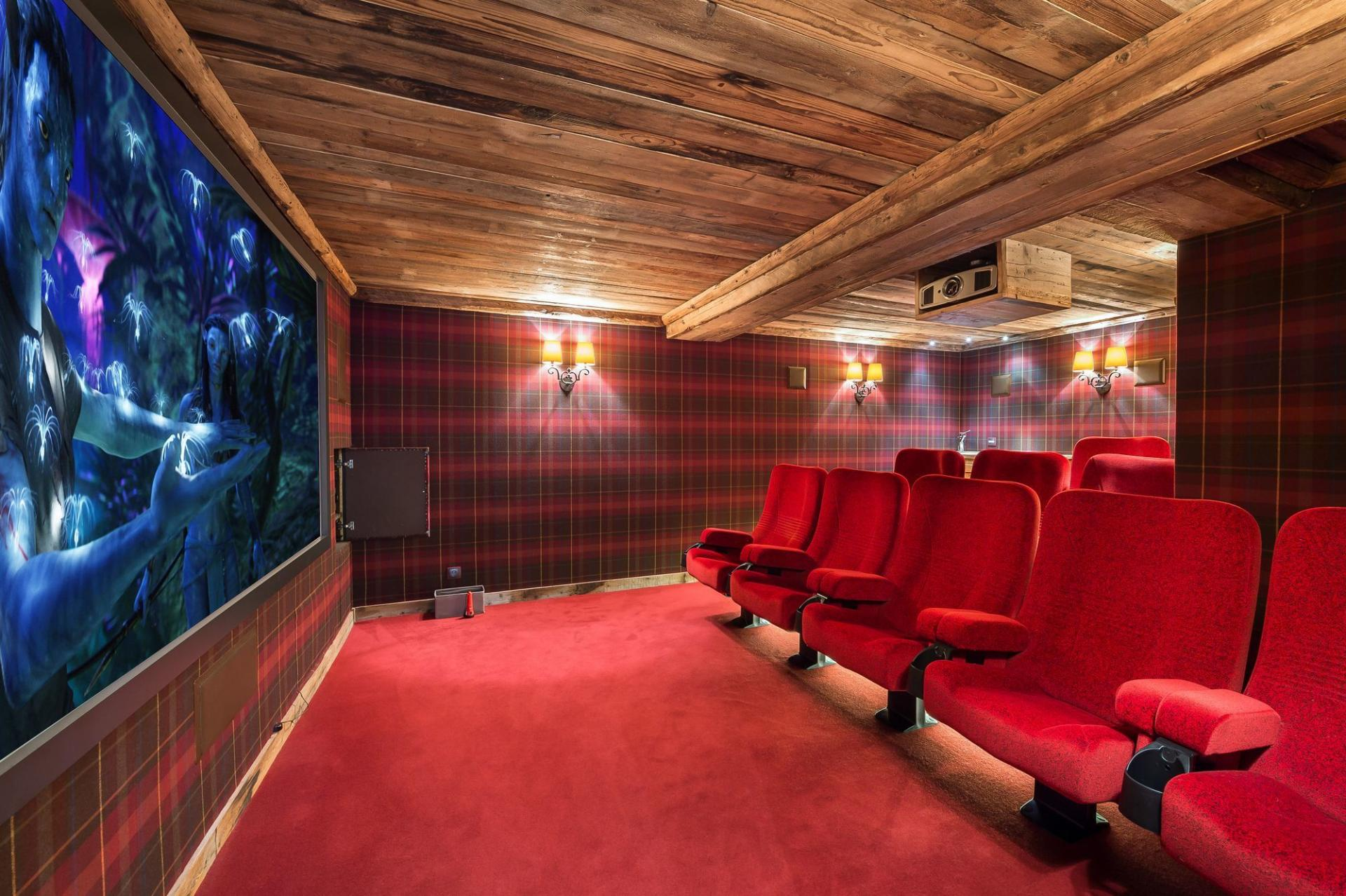 CHALET BELLECOTE AND ITS HOME CINEMA